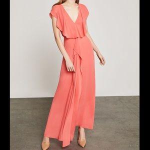 BCBG Evette Front Drape Dress